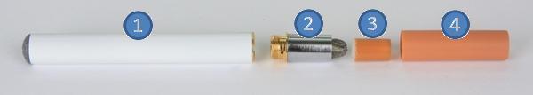 Elektrische Zigarette - Komponenten