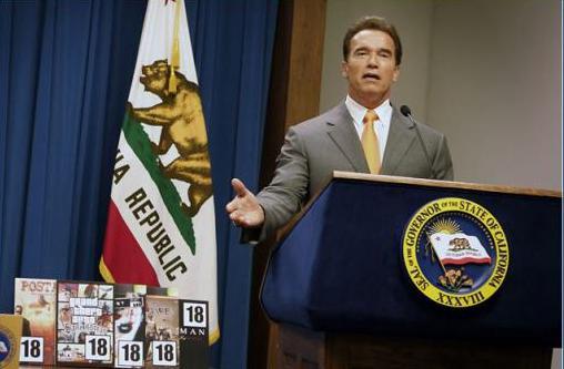 Senator Schwarzenegger erlaubt elektrische Zigaretten
