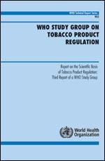 WHO-Report zur Elektrischen Zigarette