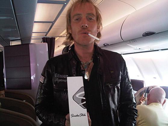 zigaretten im flugzeug